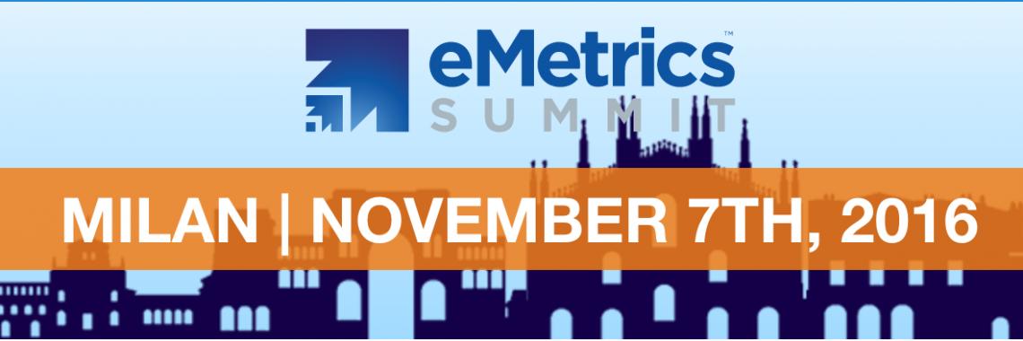 eMetrics Summit Milano